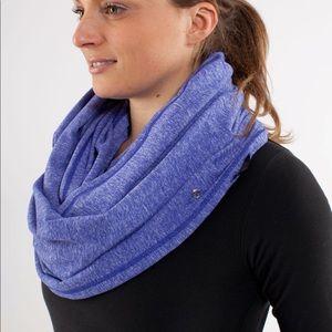 Lululemon purple infinity scarf